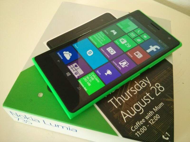 Nokia Lumia 735 green nuovo