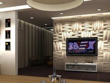 3d Decorative Wall Panels And Covering, Modern 3d Wall Panels For TV Wall  All Types Of Modern 3d Wall Panels For Wall Covering And Texture And How To  Make ...