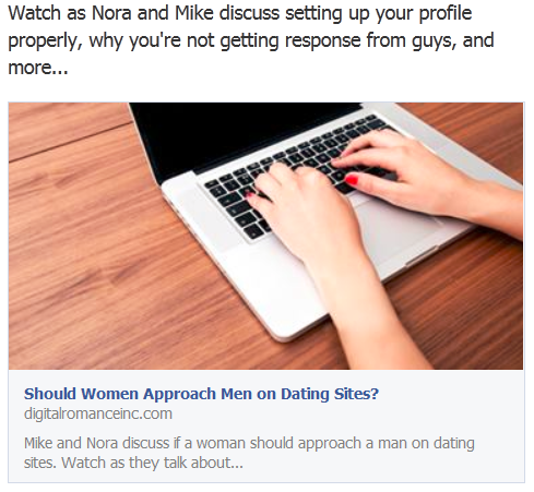 should a woman approach a man