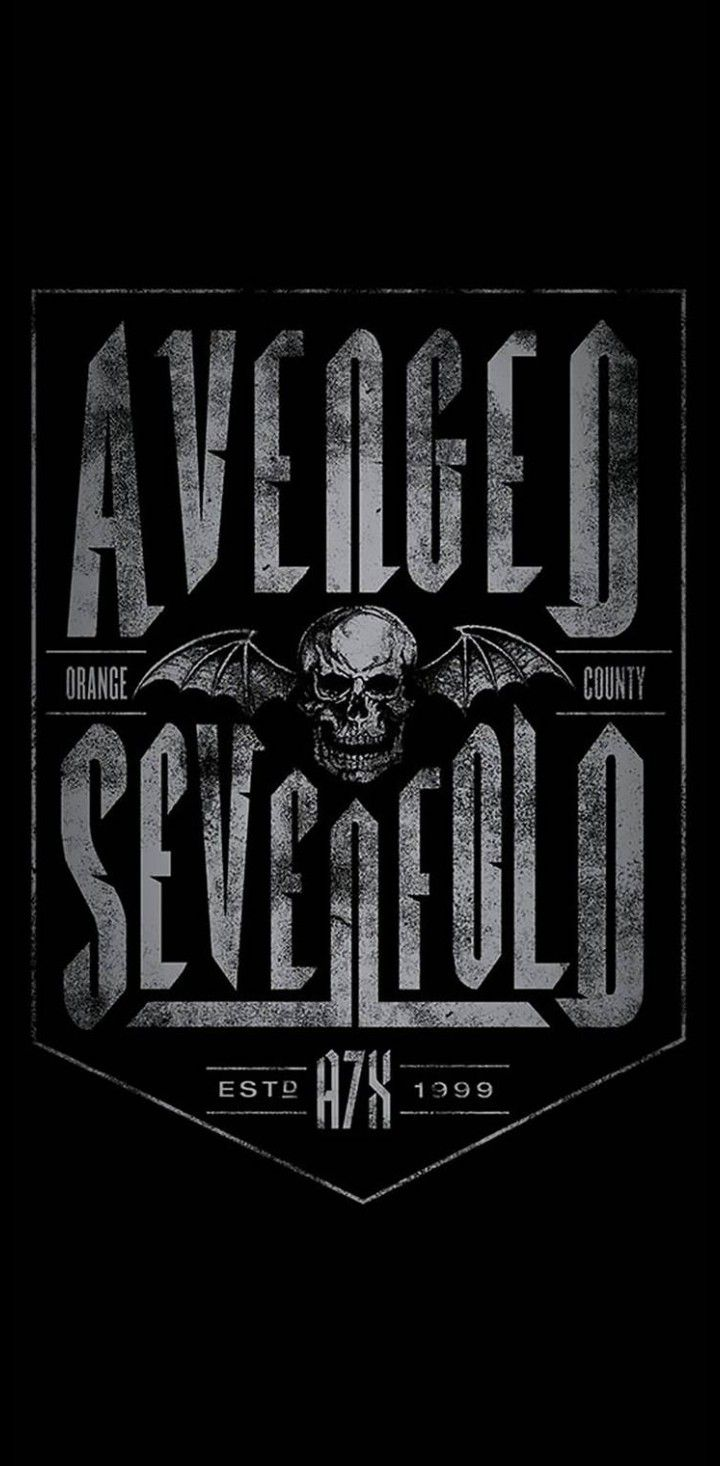 Avenged Sevenfold Wallpaper By Greatalex666 Ilustrasi Samurai Seni Gothic Poster Grafis