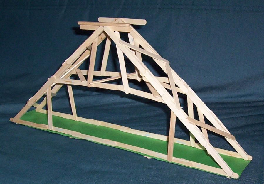 Pin Popsicle Stick Bridges On Pinterest | room34 ...