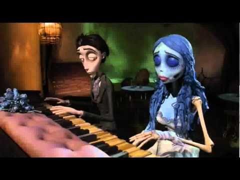 El Cadaver De La Novia Piano Youtube Corpse Bride Piano Corpse Bride Tim Burton Corpse Bride