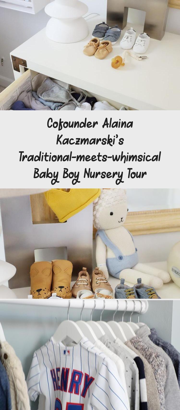 Photo of Cofounder Alaina Kaczmarski's Traditional-meets-whimsical Baby Boy Nursery Tour – Mother-Baby