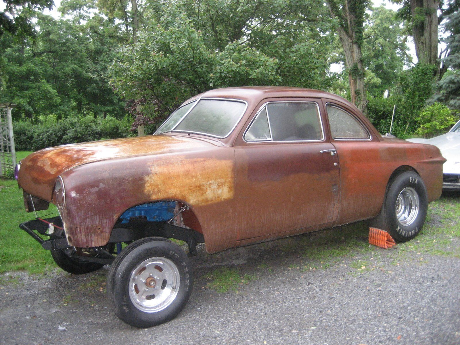 Cool Awesome 1950 Ford Other  1950 FORD COUPE RAT ROD PROJECT GASSER 2018