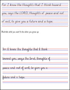 bible copywork and handwriting super summer challenge pinterest handwriting homeschool. Black Bedroom Furniture Sets. Home Design Ideas