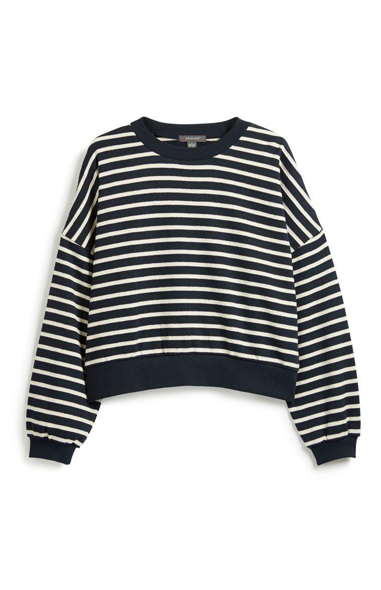 Gestreepte Trui.Gestreepte Trui Primark In 2019 Primark Stripes Texture Sweaters