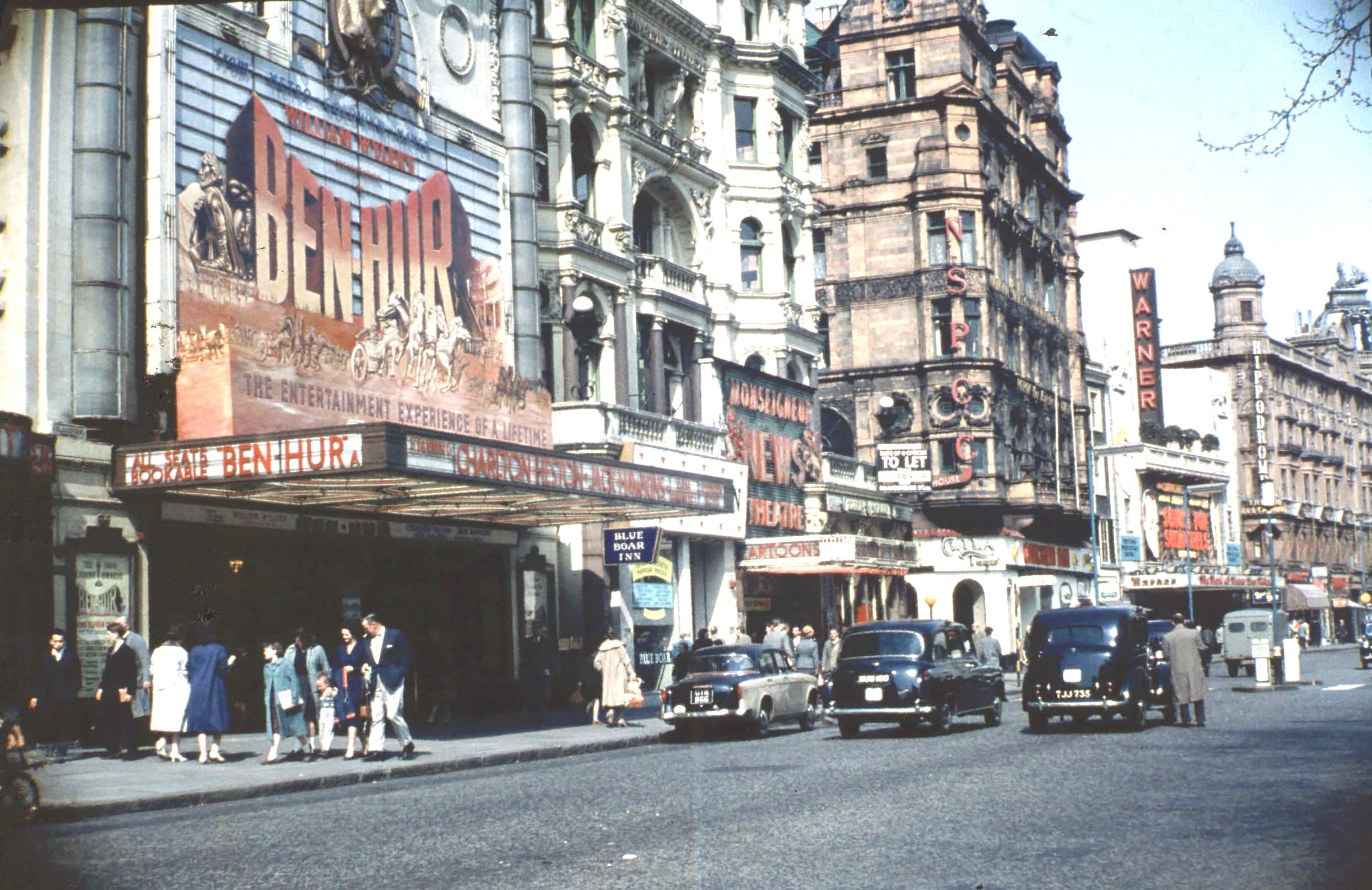 Leicester Square 1960s Historical London Old London Soho London