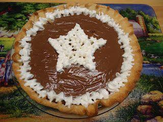Chocolate Pie Blue Ribbon Winner Blue Ribbon Pies Pie