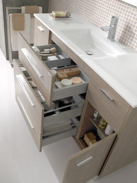 Laura Sanchis Muebles de baño Baños, muebles lavabo con cajones