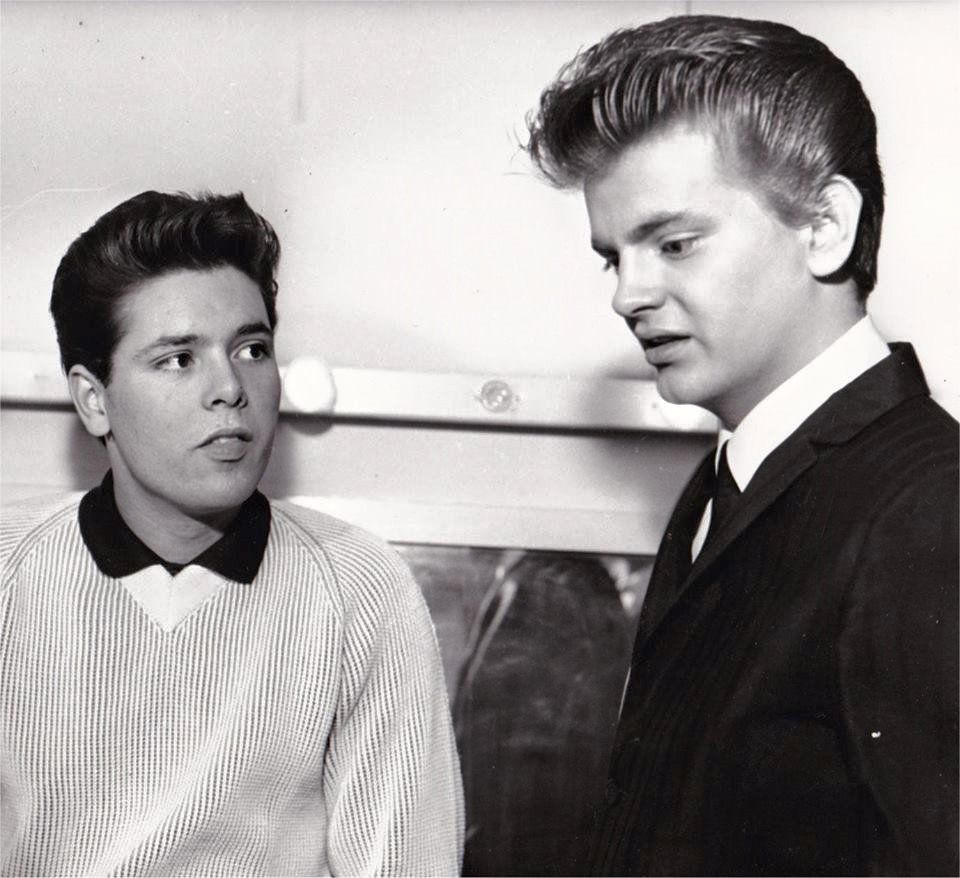 Cliff Richard and Phil Everly, 1960s.