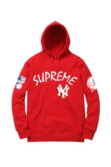 pick up c8608 2a5c7 New York Yankees x Supreme x '47 Brand 2015 Spring/Summer ...