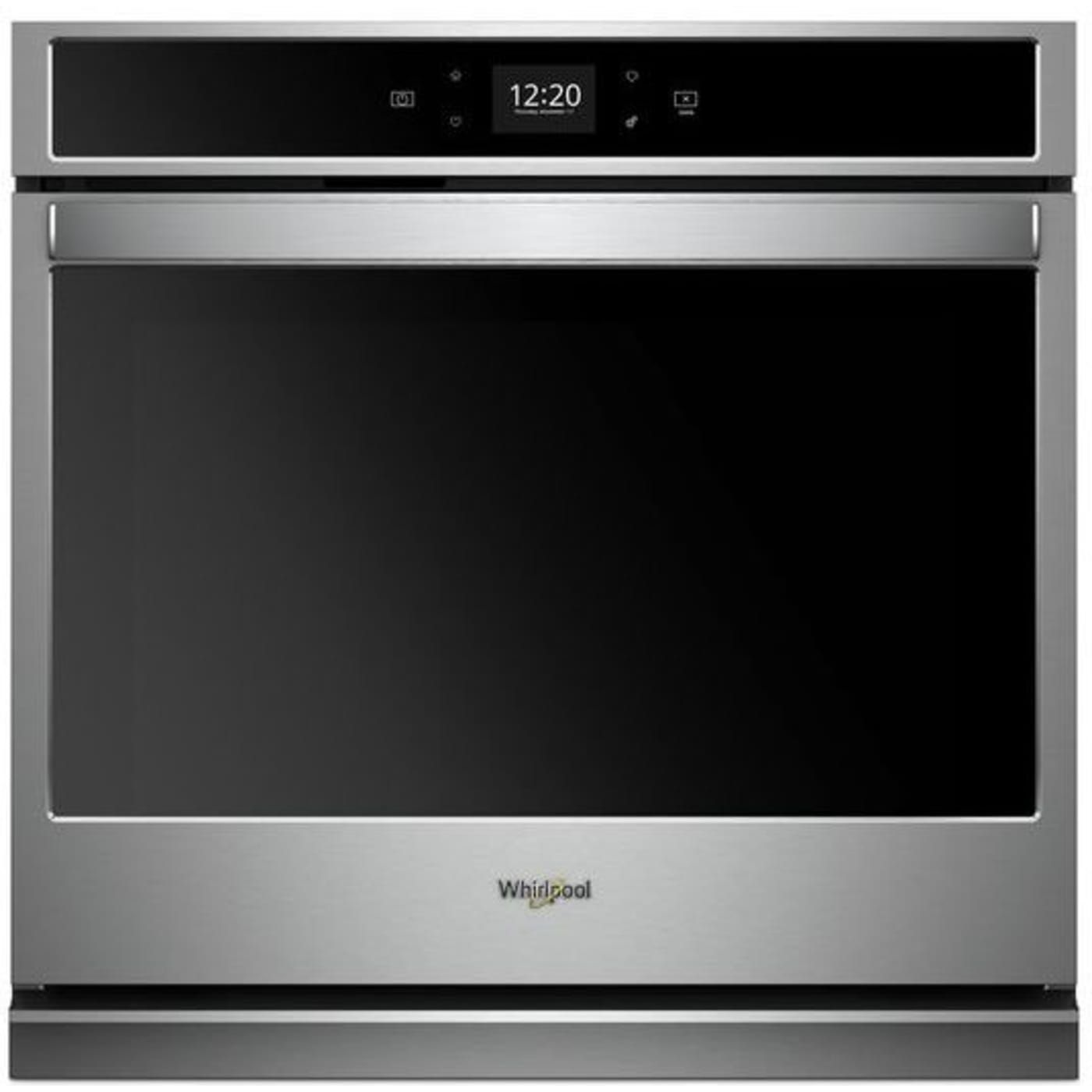 Wos51ec7hs By Whirlpool Electric Wall Ovens Goedekers Com Electric Wall Oven Integrated Dishwasher Wall Oven