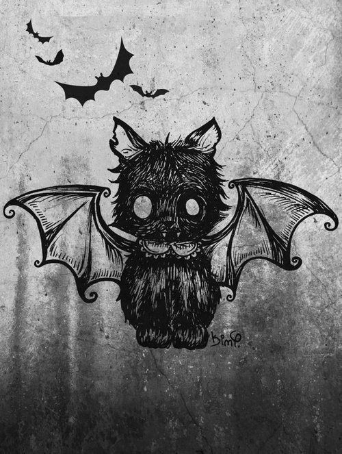 Pin By Bunny Corpse On Books Worth Reading Drawings Halloween Art Cat Art