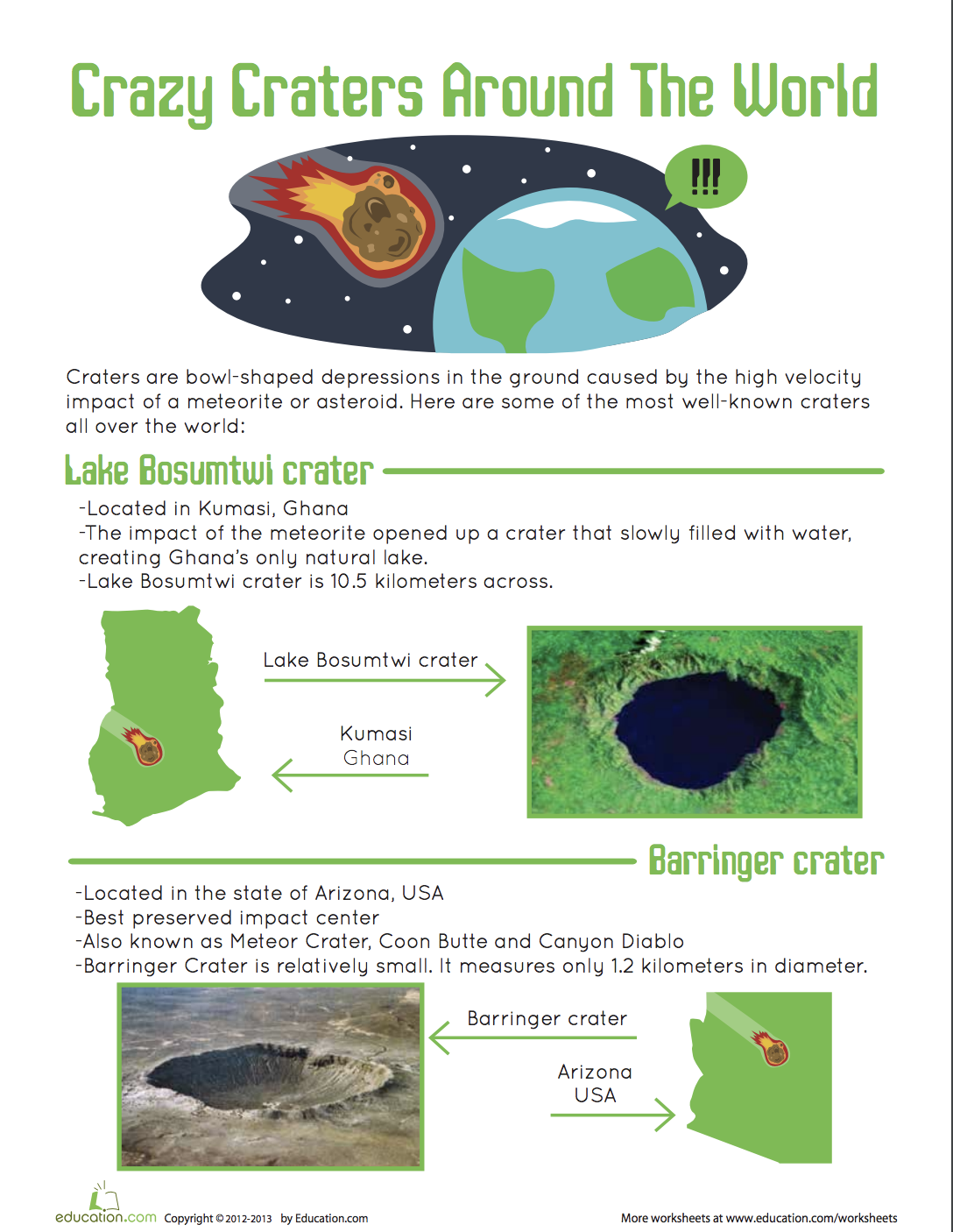 Craters On Earth