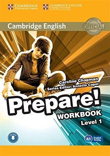 Cambridge English Prepare Level 1 Workbook With Audio Cambridge English Books Workbook