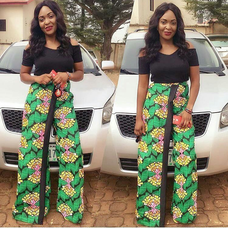 90ea5b1bc3c4d0 Trending Ankara Trouser And Top Styles For Ladies - Latest Ankara Styles