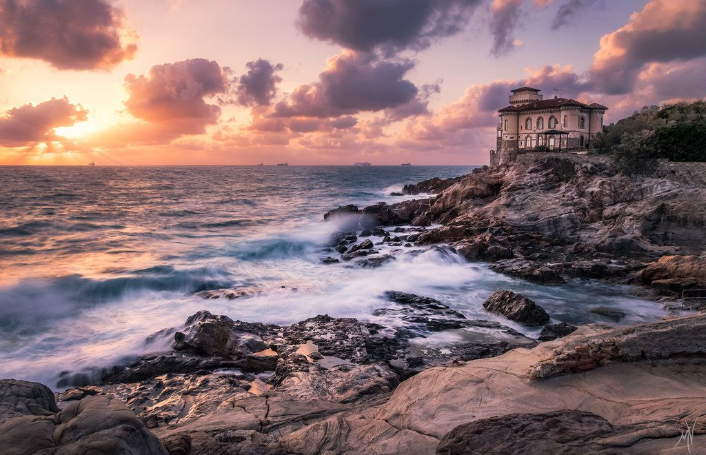 Mat Viv posted a photo:  Castello del Boccale is always a pleasure to visit...expecially if clouds and a beautiful stormy sea finally show up :D