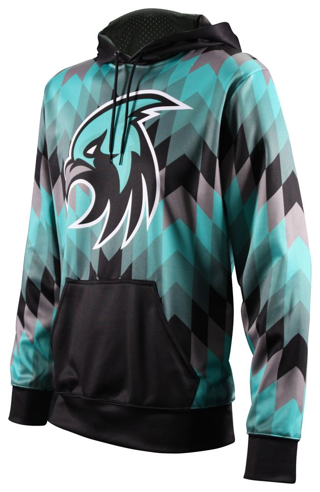 8dbb1f85180 Fully Sublimated ProSphere Elite Hoodies. Show in the Inspire design ...