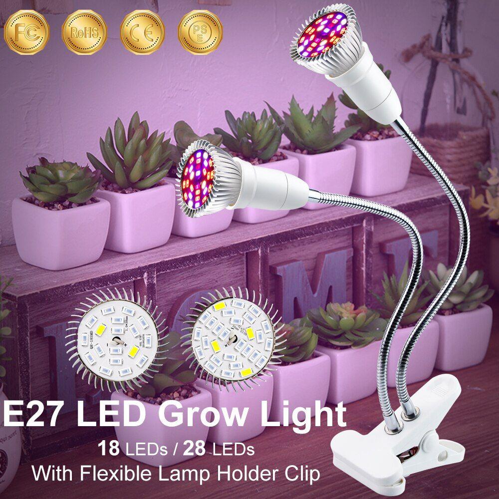 Professional Light Led Grow Lights Full Spectrum Led Grow Lights Seeds Growing Lamp Holder Clip For Tent Plant Light Tienda 2020 Idees Pour La Maison Idee Maison