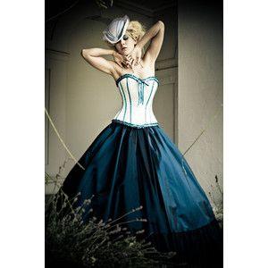 victorian corset dresses | cocktail dresses alternative wedding ...