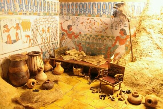 amazing 1 12 scale replica egyptian tomb diorama roombox dollhouse