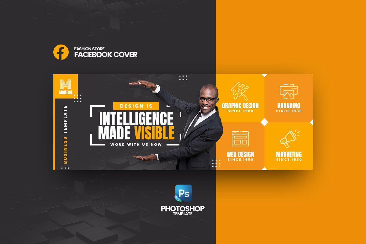 Monton Business Facebook Cover Facebook cover template