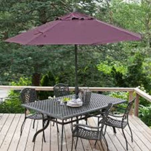 6 Ft Market Patio Umbrella Replacement Canopy Plum Sumbrella 8 Ribs Patio Umbrella Patio Patio Accessories