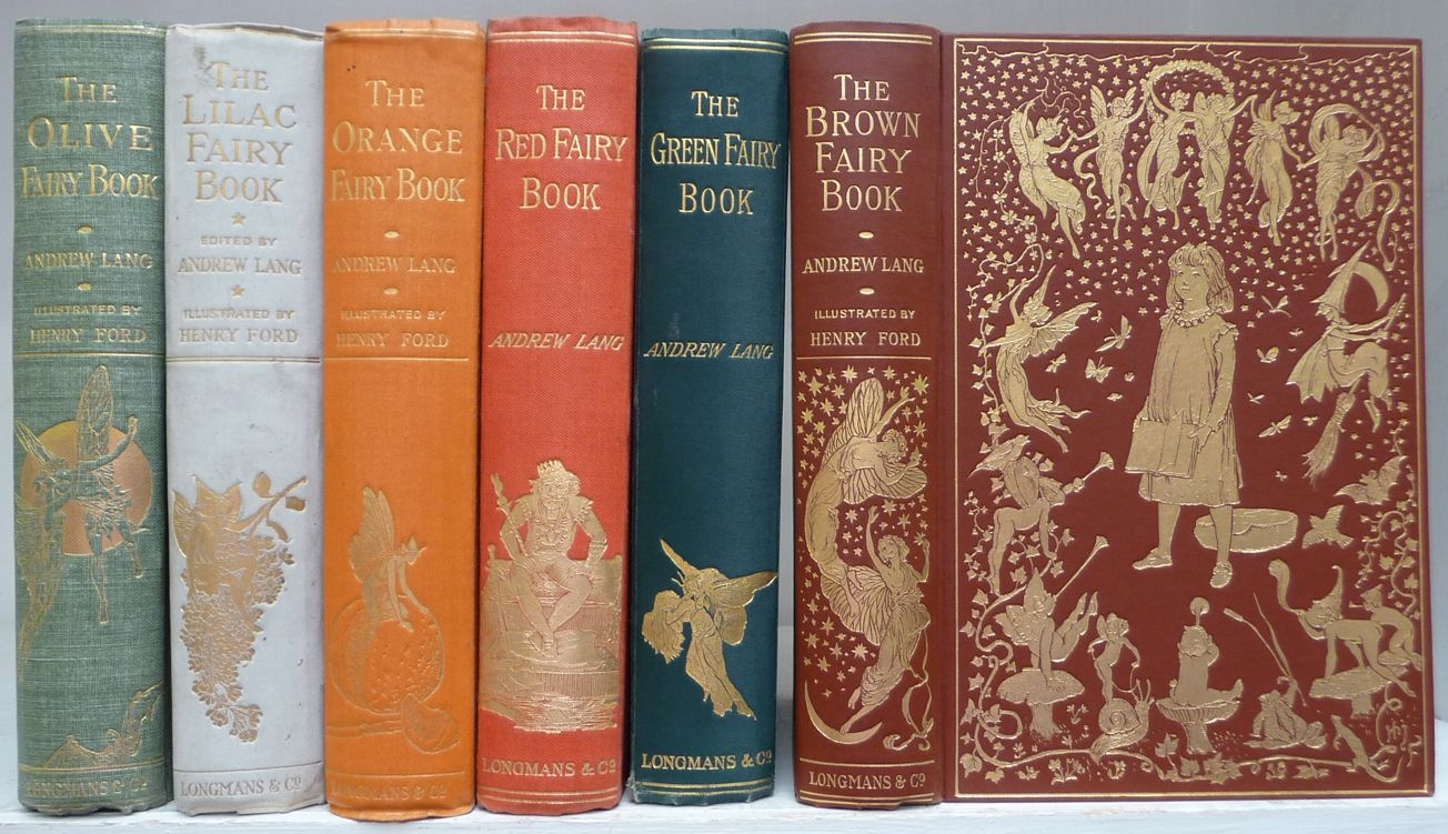 Colored Fairy Books // by Andrew Lang & Illustrated by Henry Justice ...