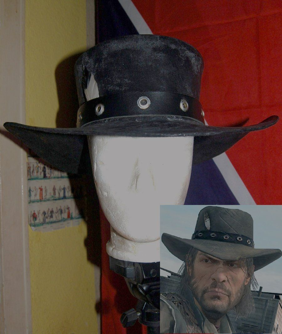 John Marston Hat By Brimstonepreacher Deviantart Com On