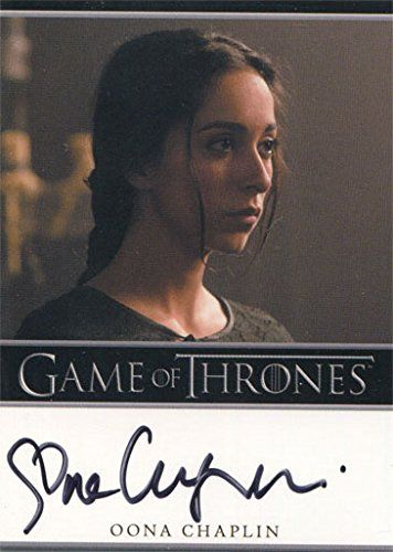 Game of Thrones Season 4 Autograph Card Oona Chaplin as Talisa Maegyr @ niftywarehouse.com