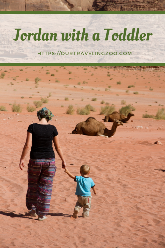 Jordan with a Toddler #traveltojordan