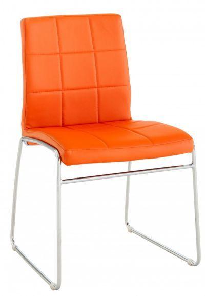 Quadro Chaise Chrome Pu Orange Meuble Fly Mobilier De Salon Chaise Design