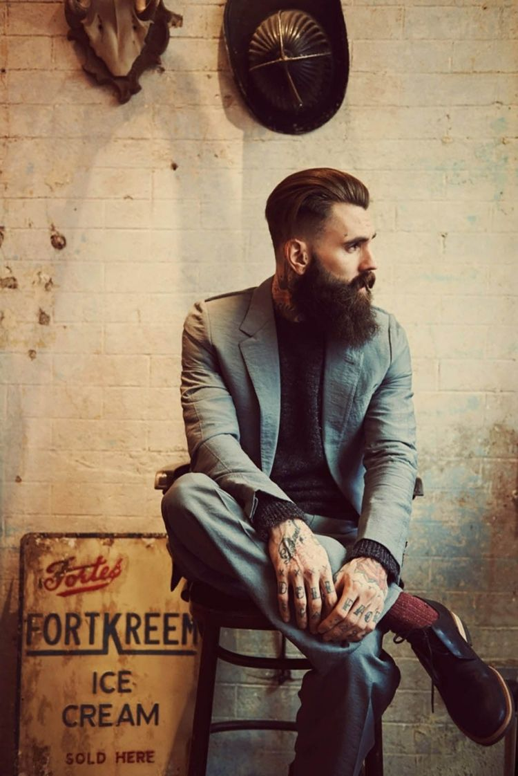 Photo of Hipster beard – the most masculine, confident and uncompromising …