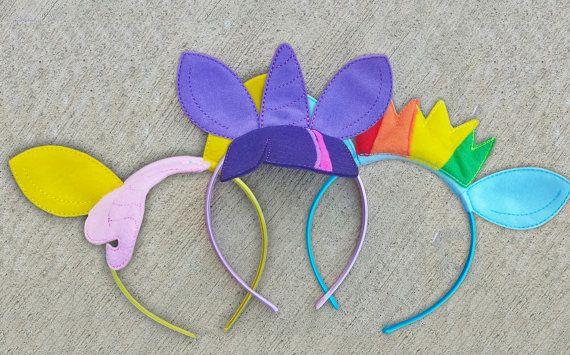 Rarity MLP Headband My Little Pony Headband by MikMakBowtique  fad02582416