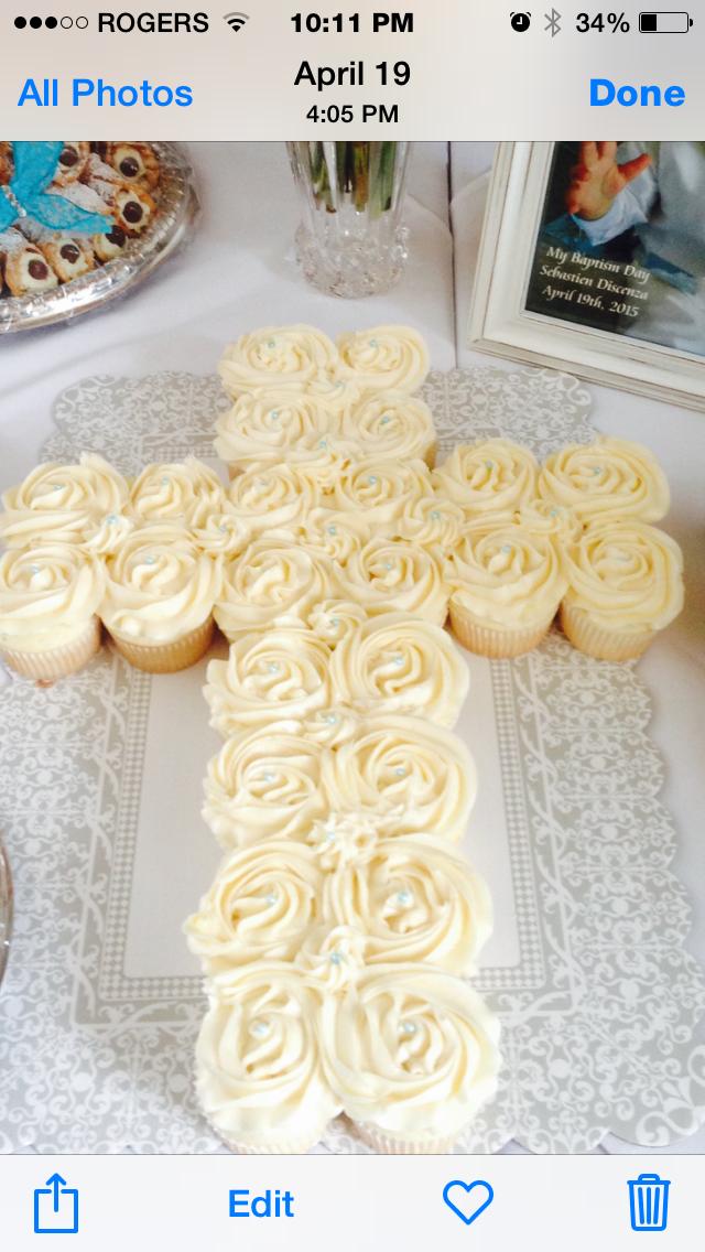 #crosscupcakes #religiouscakes #confirmationcakes