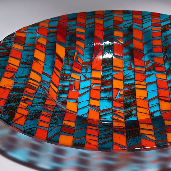 Varda Avnisan Artist Profile Artful Home Fused Glass Bowl Fused Glass Dishes Fused Glass Plates Bowls
