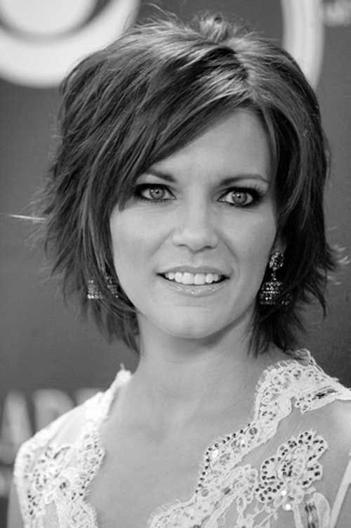 Marvelous 1000 Images About Cute Haircuts On Pinterest Shaggy Bob Medium Hairstyles For Women Draintrainus