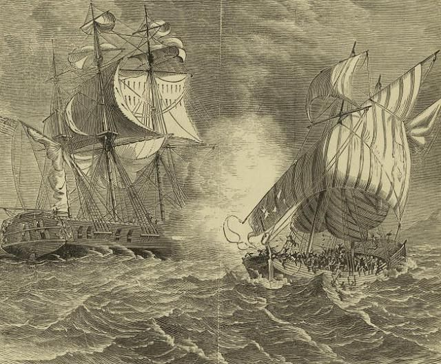 How Jefferson Fought the Barbary Pirates | Barbary pirates, First ...