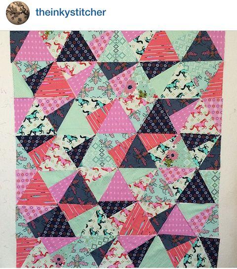 Jaybird Quilts Stereo Quilt, made with the Super Sidekick ruler ... : quilt shops online - Adamdwight.com