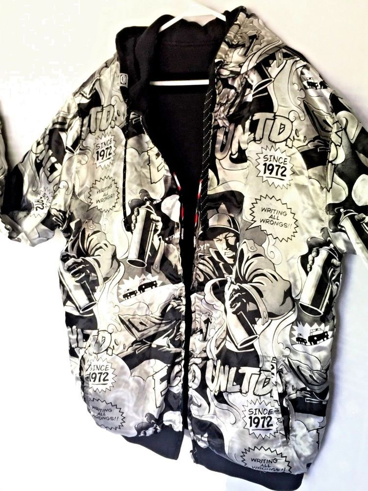 AUCTION Marc Ecko Unlimited Reversible Writing All Wrongs