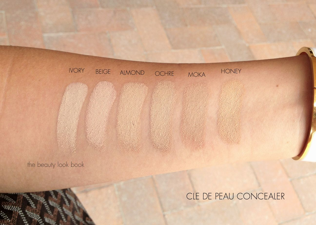 Image result for cle de peau concealer swatch