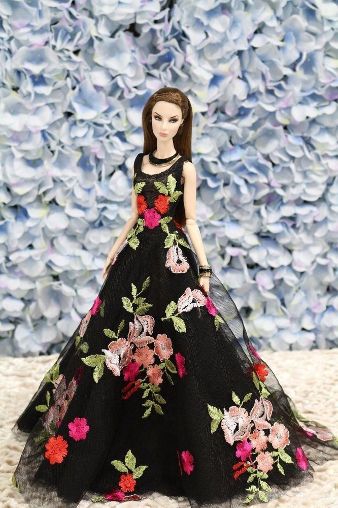 New Evening dress for Fashion royalty by t.d.fashion OOAK ...