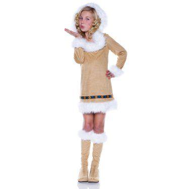 Eskimo Girl Child Costume
