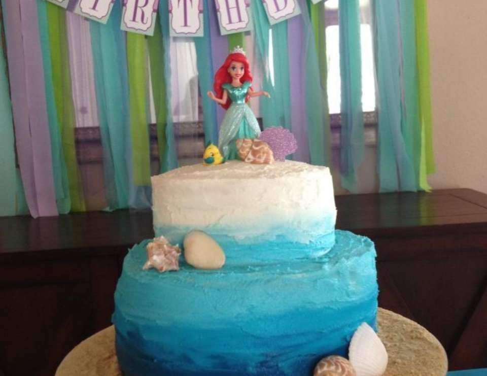 Ariel the little mermaid birthday sabrinas 3rd