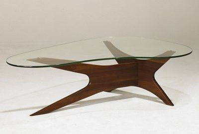 adrian pearsall kidney shaped coffee table | tables | pinterest