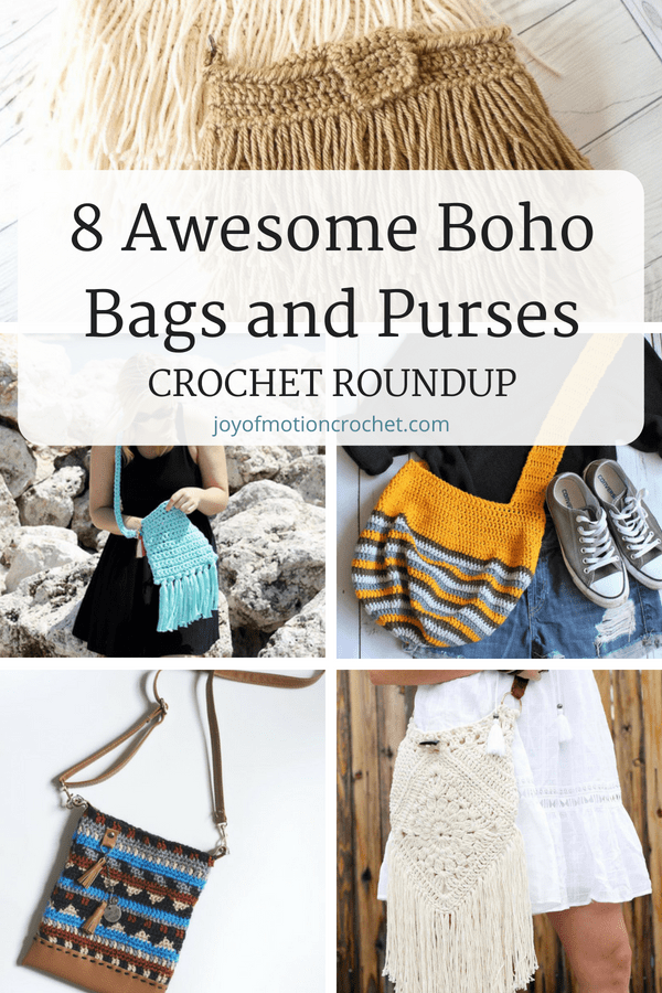 638a1520a35 8 awesome boho bags and purses crochet patterns. Shabby chick crochet  inspiration. Gypsy style crochet bags for her. Crochet bags with fringe.