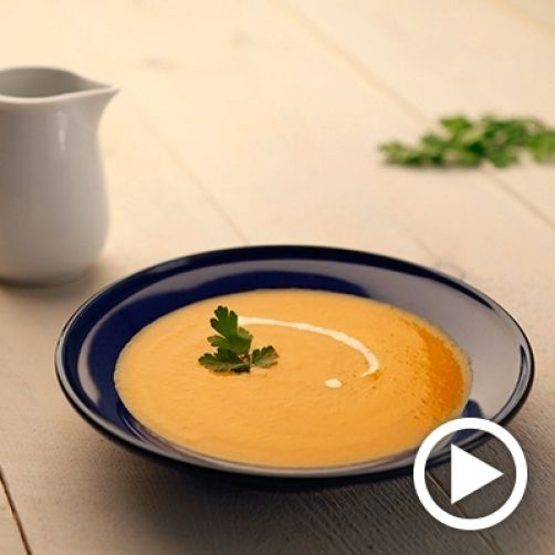 Una deliciosa receta de Crema de calabaza para #Mycook http://www.mycook.es/receta/crema-de-calabaza/