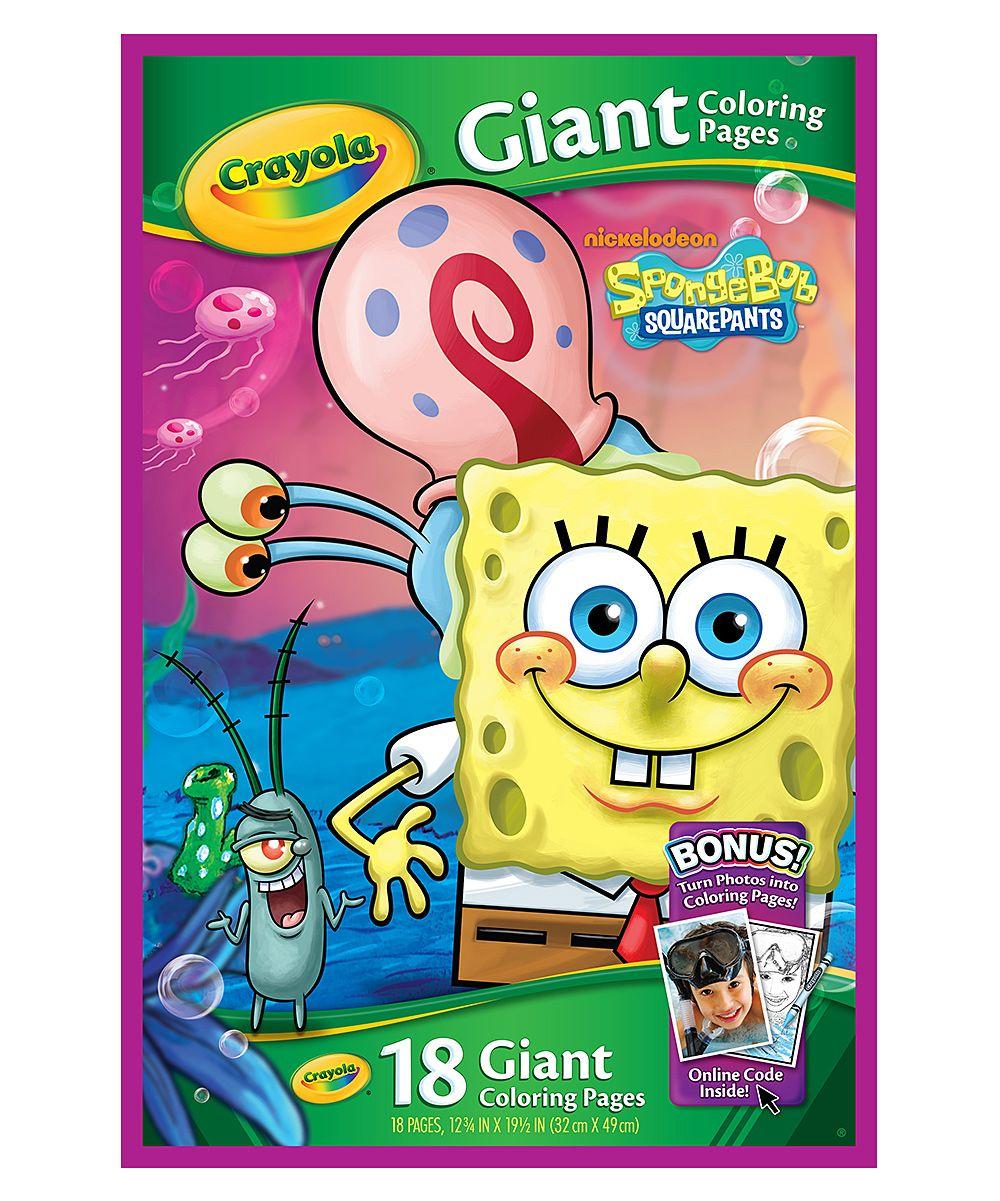 Spongebob Squarepants Giant Coloring Pages Coloring Books Coloring Pages Spongebob