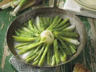 Grüne Bohnen aus der Pfanne