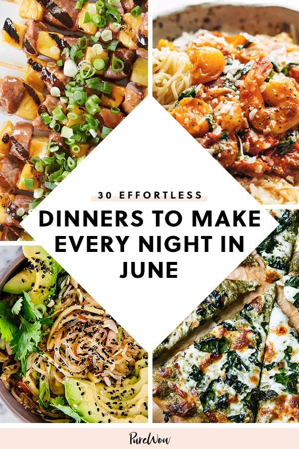 Photo of 30 Effortless Dinners to Make Every Night in June